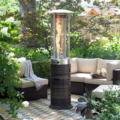 outside patio heaters 25 best ideas about wicker patio furniture on