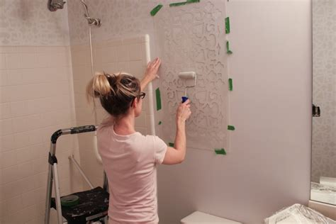 Bathroom Stencil Ideas by Bathroom Stencil Ideas Information