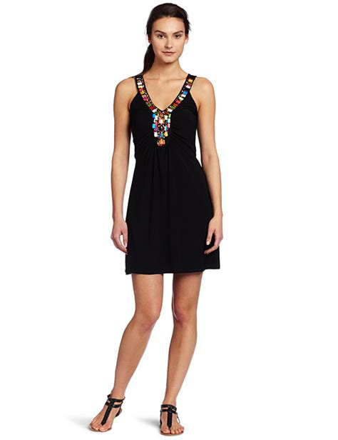 beaded neck dress just for wraps womens beaded neck ity dress