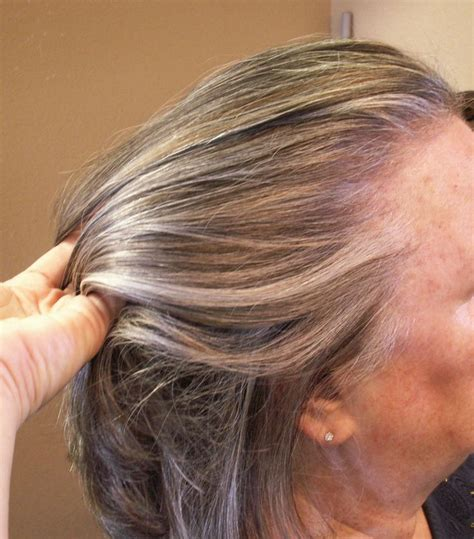 gray hair with lowlights grey hair highlights and lowlights blackhairstylecuts com