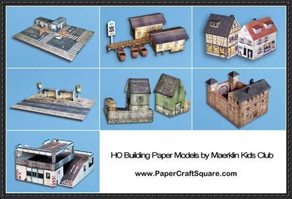 paper craft free new paper craft building paper models for diorama free