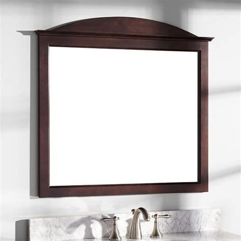 bathroom mirrors for vanity 34 quot benalla mahogany vanity mirror bathroom