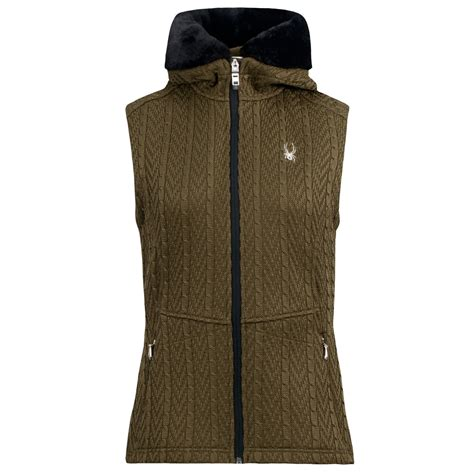 knit sweater vest spyder major cable knit sweater vest zip for