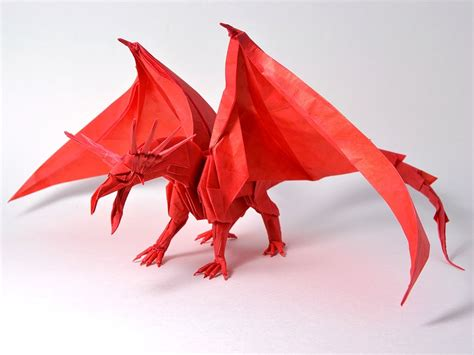 origami dragons get fired up for these origami dragons