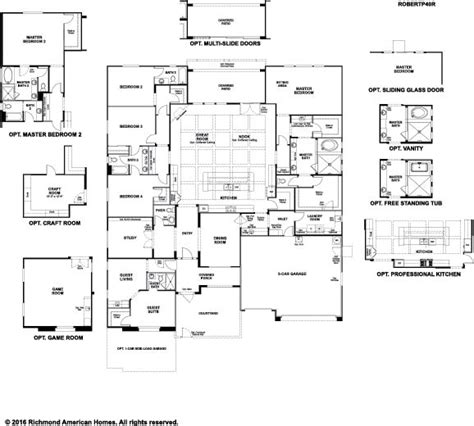 floorplan robert robert floor plan at the estates at vista