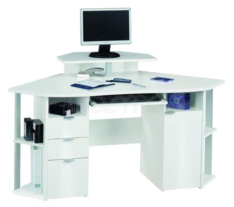 white corner computer desks for home white office desk the best option for your table actual