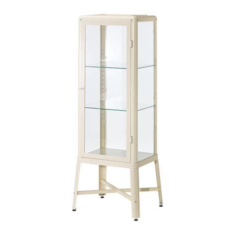 ikea fabrikor fabrik 214 r glass door cabinet beige ikea