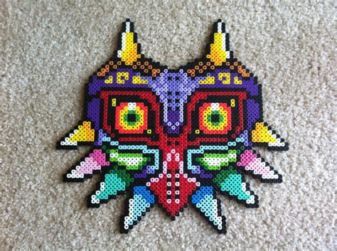 how to make a bead mask majora s mask bead sprite by tag on deviantart
