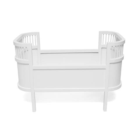 bed toys leo smallstuff rosaline wooden doll bed cot white