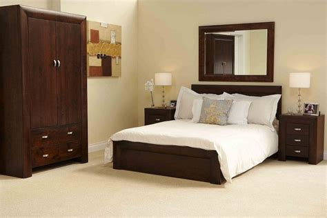 bedroom with brown furniture cozy white bedroom interior design with brown wood