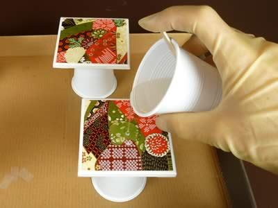 waterproof decoupage how to make coasters warning read this before you make