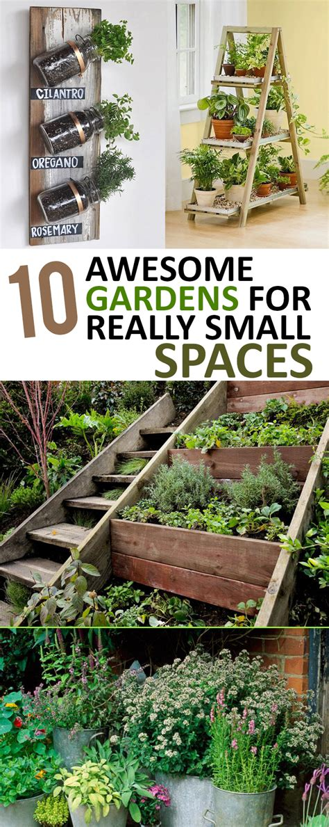 garden ideas small spaces 10 awesome gardens for really small spaces