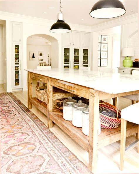 farm table kitchen island best 25 farmhouse kitchen island ideas on large kitchen island wood top island