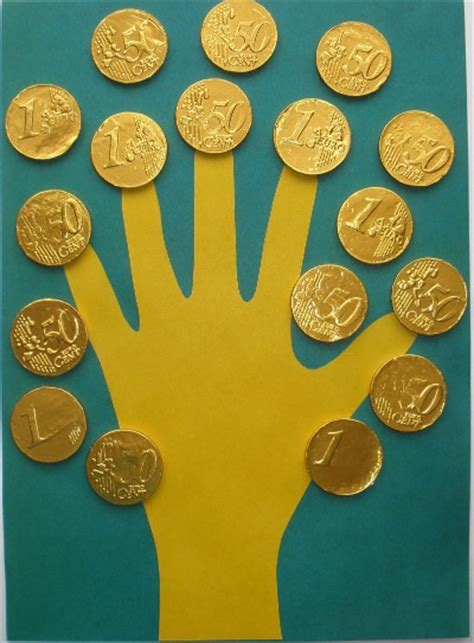 handprint rubber st inexpensive st s day crafts