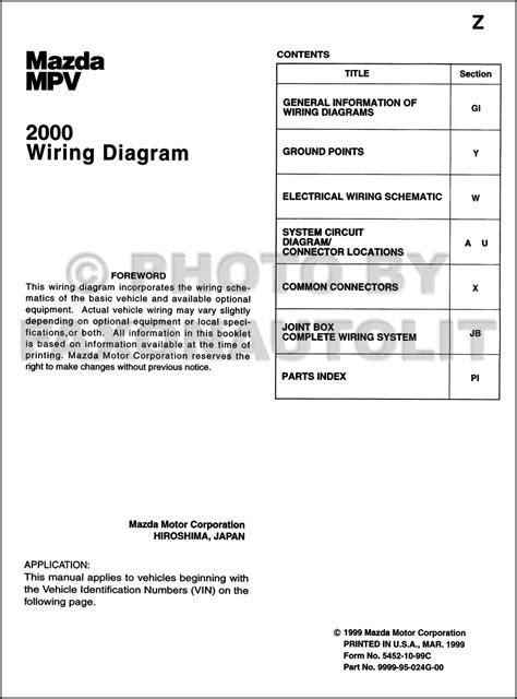 car manuals free online 2002 mazda mpv engine control 2001 mazda mpv engine diagram wiring library