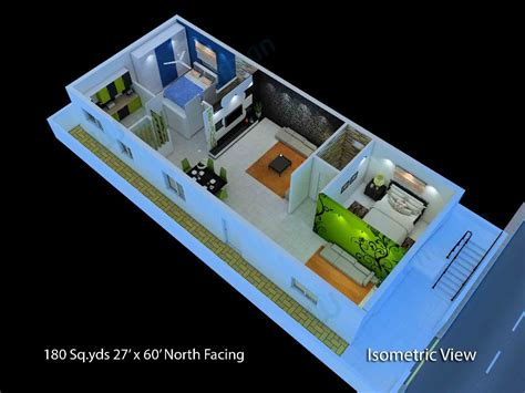 3 Bedroom House Plans Indian Style west facing house plans for 60x40 site