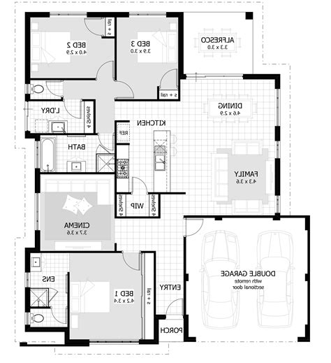 simple 3 bedroom house plans architecture design simple 3 bedroom house home combo