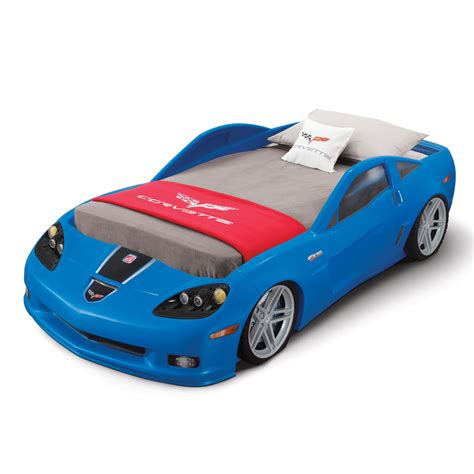 corvette toddler to bed step2 daily deal corvette toddler to bed with