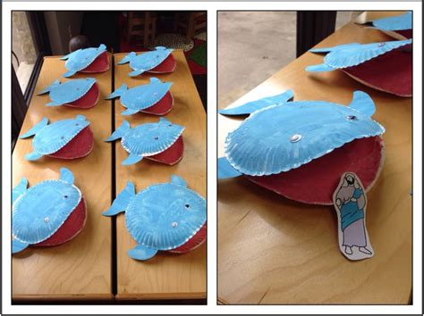 whale paper plate craft 1000 ideas about whale crafts on jonah and