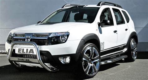 elia brings in the bling to dacia duster suv