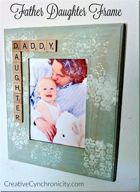 gifts for fathers from daughters diy gift for frame creative