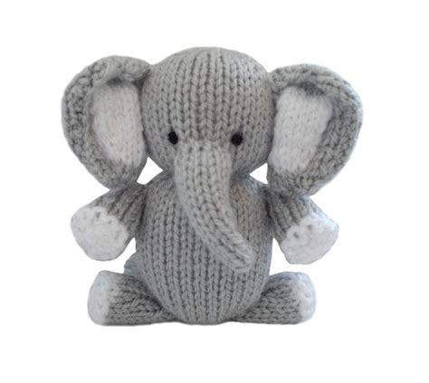 Elephant By Knitables Knitting Pattern