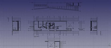 How To Draw A Floor Plan In Autocad tutorial di architettura freecad documentation