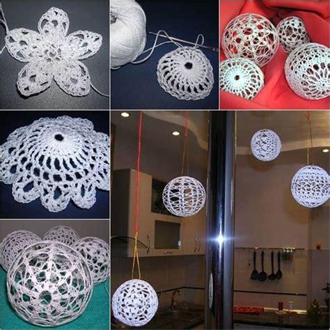 Simple Decorating Ideas For Home creative ideas diy crochet christmas balls
