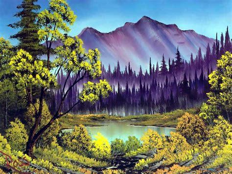 bob ross painting lake pin bob ross painting on