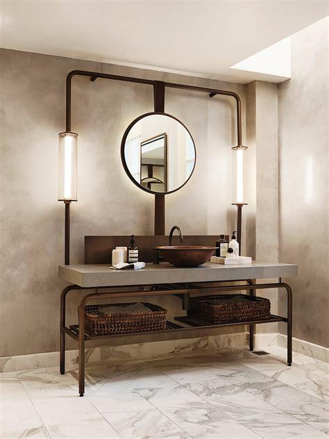 lighting ideas for bathrooms 10 lighting design ideas to embellish your industrial bathroom