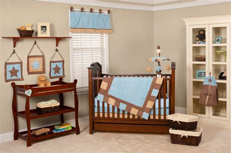 blue and brown nursery decorating ideas decoration baby nursery room decorating ideas gray wall