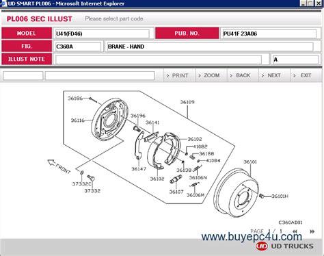 Nissan Parts by Nissan Ud Truck Parts Catalog Nissan Auto Parts Catalog