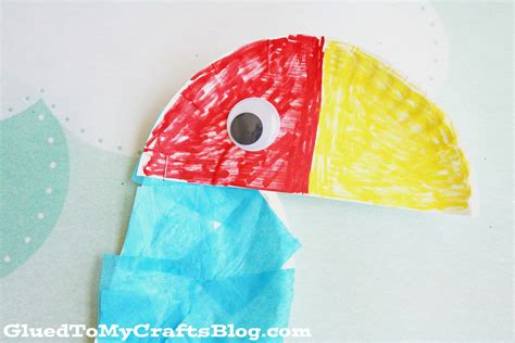 paper plate parrot craft paper plate parrot kid craft glued to my crafts