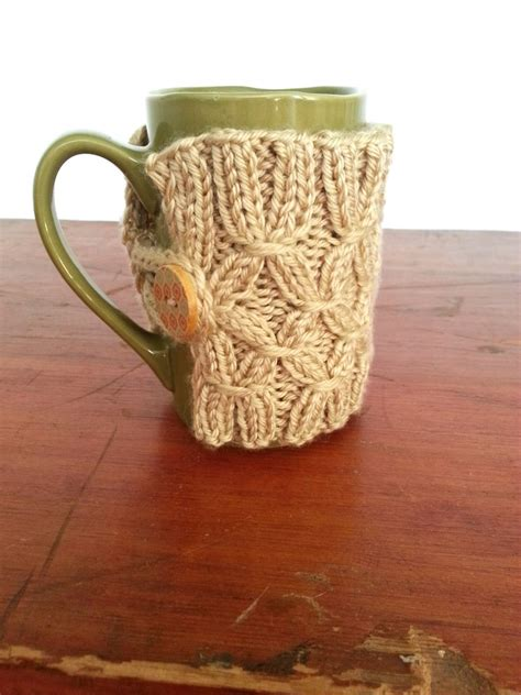 mug knitted warmer diy knit mug warmer simplymaggie