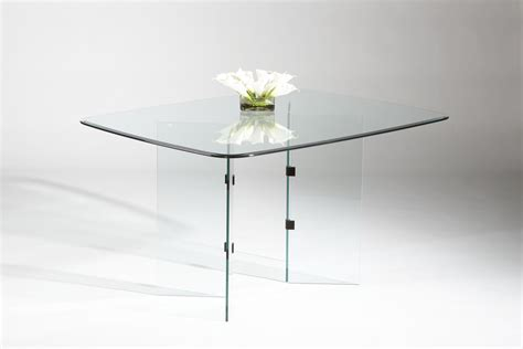 bases for glass dining room tables rectangular all glass dining table table with two v base
