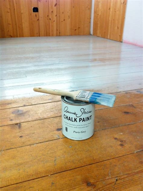 chalkboard paint for wood chalk paint 174 on a floor with s lacquer for