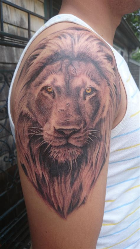 my calm but bold and scarred lion by steph winters