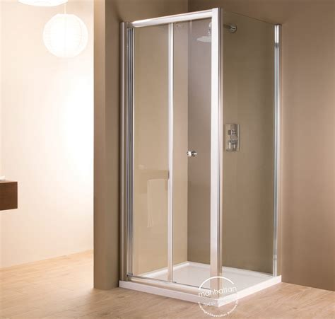 bi fold shower door 800mm manhattan 6 bi fold shower door 800mm