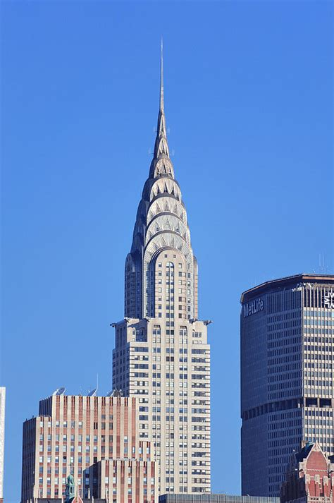 Chrysler Building New York City by New York City Chrysler Building Photograph By Songquan Deng