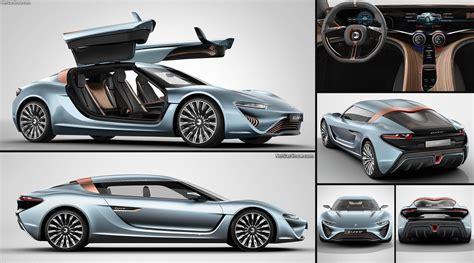 Quant E Sportlimousine by Nanoflowcell Quant E Sportlimousine Concept 2014