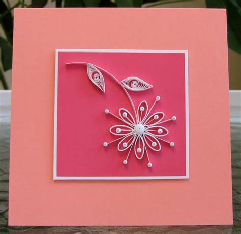 simple card for how to quill paper 40 free paper quilling patterns