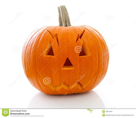 pumpkin cheek scary pumpkin with stock images image