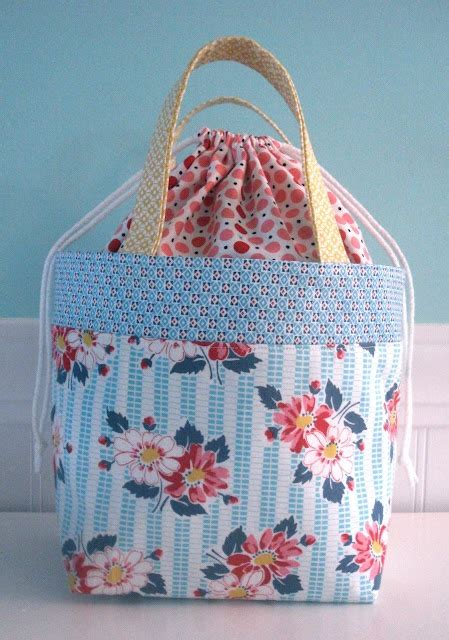 sewing pattern for knitting project bag 25 best ideas about knitting bags on handmade