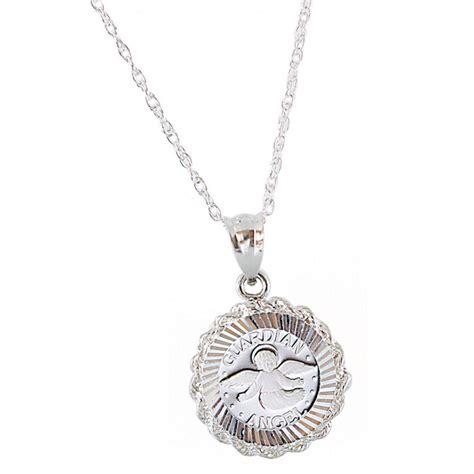 sterling silver jewelry sterling silver guardian pendant 232746 jewelry