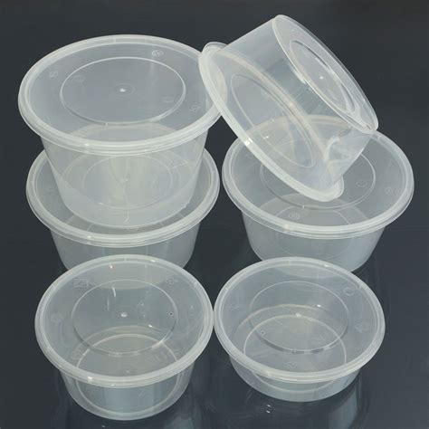 transparent plastic containers food storage container plastic transparent clear
