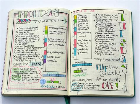how i use my bullet journal to set and achieve 90 day goals