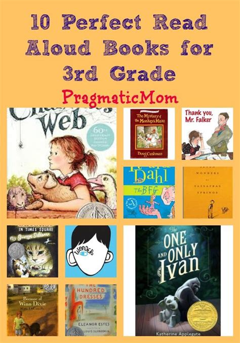 10 Read Aloud Books For 3rd Grade Book