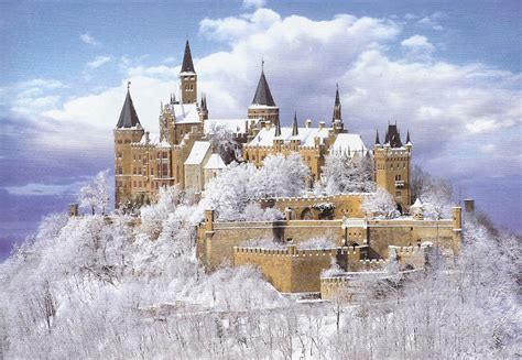 historical castles hohenzollern castle historical in hechingen germany
