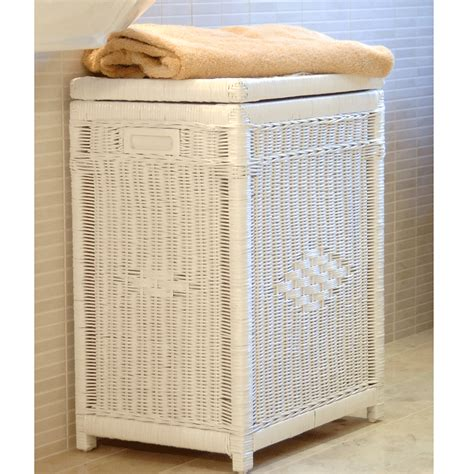 laundry hers with lid wicker laundry basket with lid white laundry