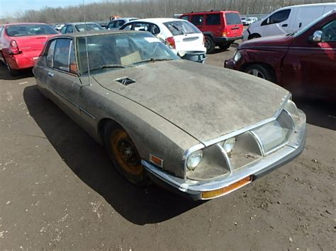 Citroen Sm For Sale Usa by 1973 Citroen Sm For Sale Ky Louisville Salvage Cars